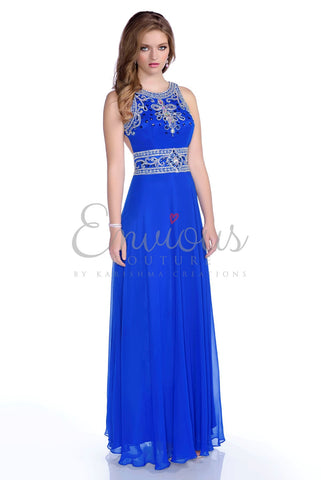 Envious Couture by Karishma Creations style 16211 size 2 in Royal Blue
