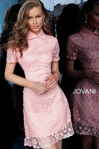 Jovani 1812 Black and Pink Sizes 00-24