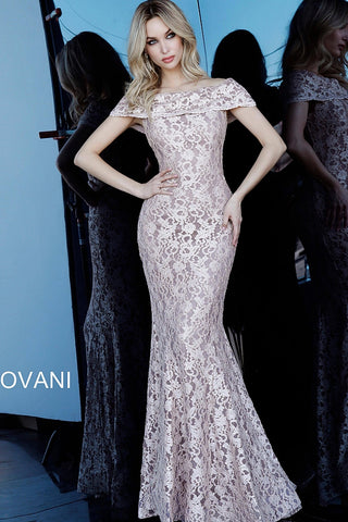 Jovani 1814 Taupe Sizes 00-24
