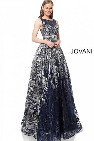 Jovani 2399 Navy Sizes 00-24