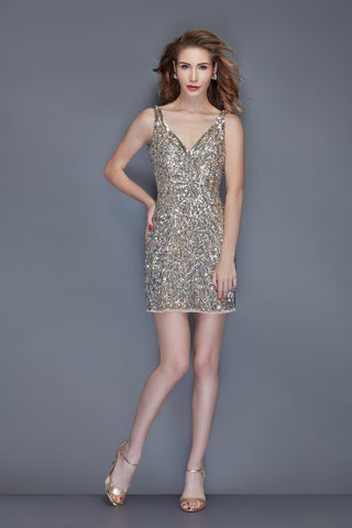 Primavera Couture 3101 short homecoming dress
