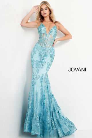Jovani 3675 Long Prom Dress Sheer Corset Shimmer Mermaid Pageant Gown Embellished form fitting prom dress, floor length with slightly flare bottom, sheer bodice with boning, sleeveless, plunging neckline, spaghetti straps over shoulders, V back. Prom Dresses, Pink Prom Dresses, Corset Dresses, Illusion Dresses, Mermaid Prom Dresses, Sequin Prom Dresses, Sexy Prom Dresses, V Neck Prom Dresses, Long Prom Dresses, Blush Dresses Glass Slipper Formals
