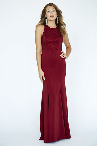 Jolene Collection 19097 Royal and Burgundy Sizes 00-18