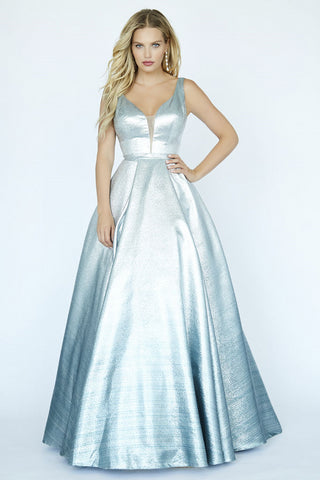 Jolene Collection 19038 Mint/ Silver Ombre Sizes 00-24