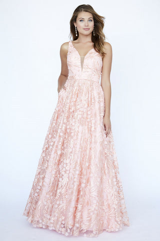 Jolene Collection 19101 Peach Sizes 00-18