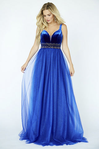 Jolene Collection 19107 Sapphire Sizes 00-18