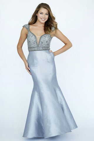 Jolene Collection 19001 Royal and Grey Sizes 00-18