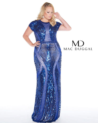 Fabulouss by Mac Duggal 4676 size 16 Prom Dress Pageant Gown
