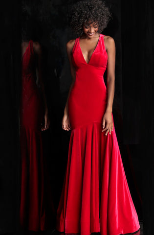 c7d8a6cc473 JVN by Jovani 62550 cap sleeve black embroidered lace prom dress Black Size  16. 428. Jovani 51586 Black and Red Sizes 00-24