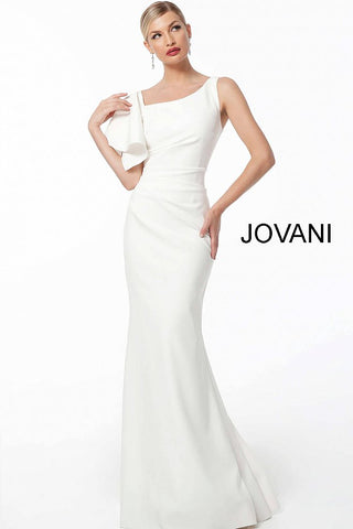 Jovani 54789 Fitted Ruched Bodice Evening Dress