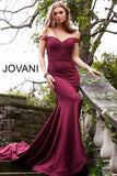 "Jovani 55187 off the shoulder glitter waffle mermaid prom dress. Stretch glitter waffle fabric pageant gown, off the shoulder sweetheart neckline, floor length with train, horse hair trim, form fitting silhouette evening gown.  Available colors:  burgundy, hunter, ivory, navy, majestic red, peacock, royal blue, black, green, fuchsia, turquoise Available sizes:  00-24 ​   Fabric: 100% Polyester. Fit: The Model is 5'9"" Wearing 3"" Heels.  Neckline:  Sweetheart Waistline: Natural"