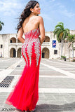 Jovani 5908 Sexy strapless mermaid prom dress evening gown