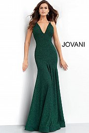 Jovani 60214 backless fitted mermaid long prom dress evening gown formal dress