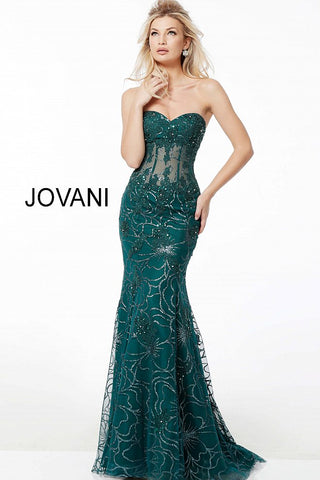 Emerald Evening Gowns