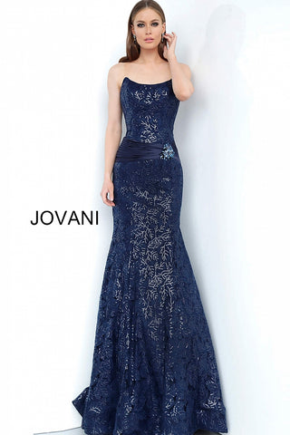 Jovani 62939 Navy sizes 00-24