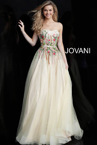 Jovani 65866 Multi/Yellow Sizes 00-24