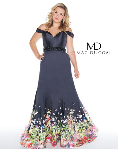 Fabulouss by Mac Duggal 66391 Size 14 Prom Dress Pageant Gown