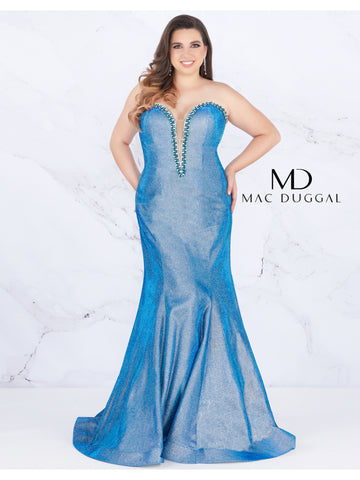 Mac Duggal Couture 66815 Twilight Size 20 Prom Dress Pageant Gown