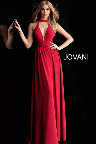 Jovani 67766 Gold, Navy and Red Sizes 00-24