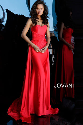 Jovani 68641 blue, navy, pink, red Sizes 00-24