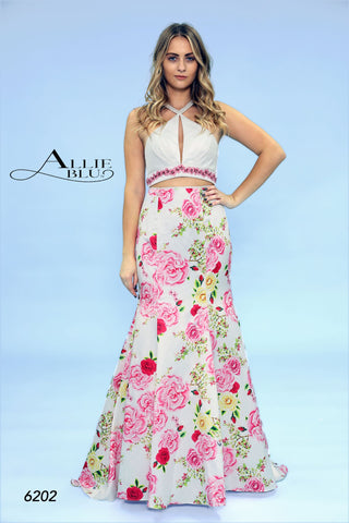 Allie Blu 6202 Miami Print Sizes 0-14