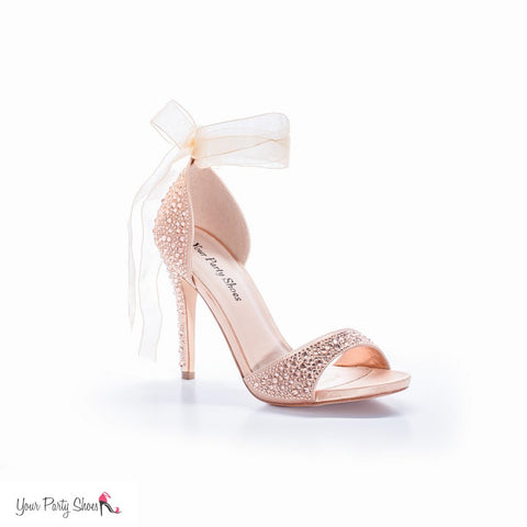 Carley Rose Gold Your Party Shoes High