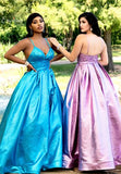 Envious Couture E1600 V neckline ruched bodice and wide ruched waistline long A line prom dress ball gown shimmer jacquard evening gown pageant dress Colors Turquoise, Lilac  Sizes 00, 0, 2, 4, 6, 8, 10, 12, 14, 16, 18, 20, 22, 24, 26, 28, 30