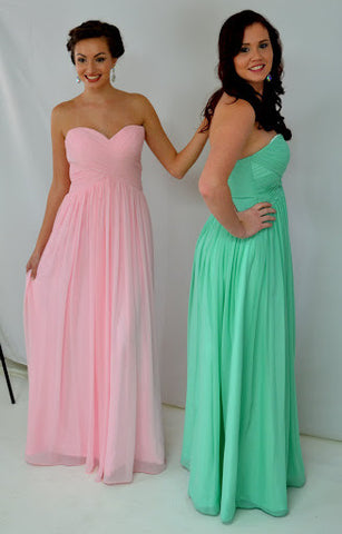 GSF 5051 Chiffon bridesmaid dress
