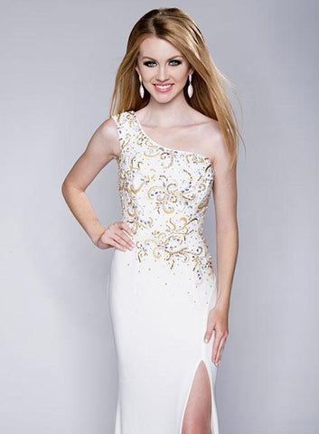 Envious Couture 15166 White Sizes 10 and 14