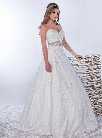 Adagio Bridal W9148 Ivory Size 22 Wedding Dress Bridal Gown