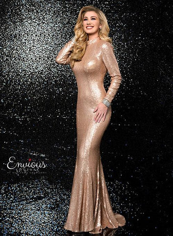 Envious Couture 18505 Champagne Size 6, 8 and 10