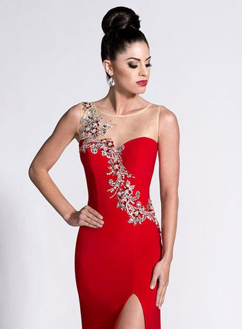 Envious Couture 15054 Red Size 12