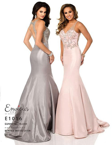 Envious Couture E 1016 Gunmetal Size 10