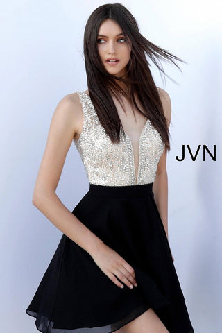 JVN by Jovani 64297 short homecoming formal dress