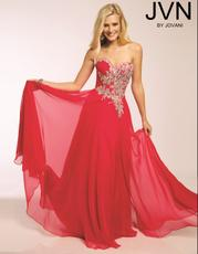 Jovani JVN 92587 fuchsia size 8 in stock embellished bodice a line prom dress