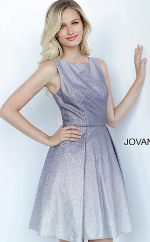 Jovani Kids K2029 is a Short Girls Party Dress, Kids Pageant Gown & Pre Teen Formal Evening Wear gown. This Purple Glitter Shimmer Ombre Gown Features a High neckline. Embellished waist belt and Pleated Flared short skirt. Perfect Holiday Party Dress for Formal or Semi formal events!   Available Girls Sizes: 8, 10, 12, 14  Available Colors: Purple