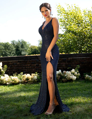 Primavera Couture 3237 Midnight and Nude Sizes 00-18