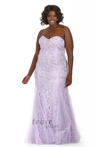 Tease Prom 1613 by Sydney's Closet in purple size 20 prom dress pageant