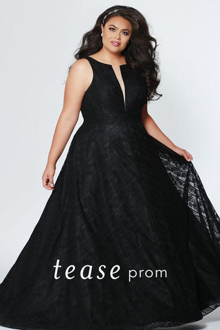 Tease Prom By Sydney's Closet Black Size 14 1936 Prom Dress Pageant Gown