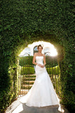 Casablanca Bridal Gown Style 2026 Size 20 Ivory / Silver Wedding Dress