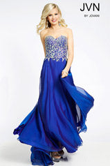 JVN by Jovani 20193 size 18 royal Prom Dress Pageant Gown
