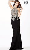 JVN by Jovani 33691 Keyhole neckline Prom Dress