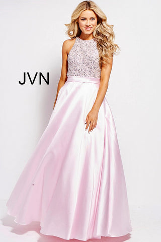 JVN by Jovani 49432 Embellished Bodice A line Prom Dress-