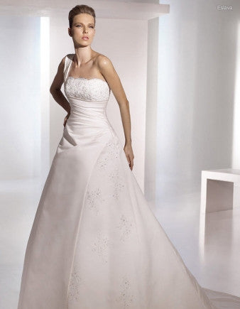 San Patrick by Pronovias style Eslava in size 2 in Ivory Wedding Dress Bridal Gown