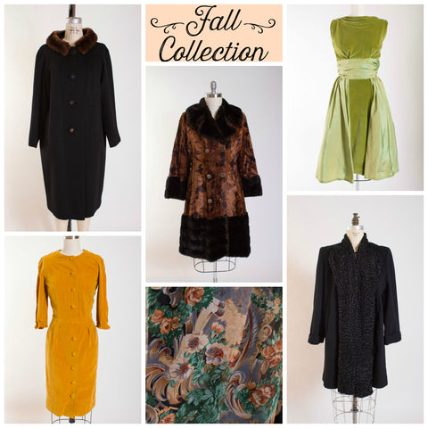 Fall Collection Dresses and Coats by Simply Vintage Boutique