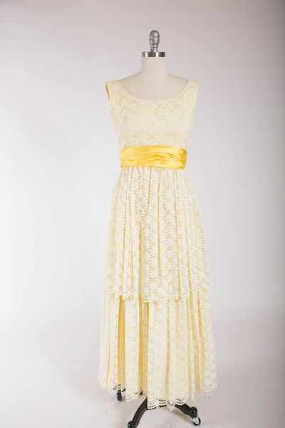 Far Too Long Dress - Simply Vintage  - 1
