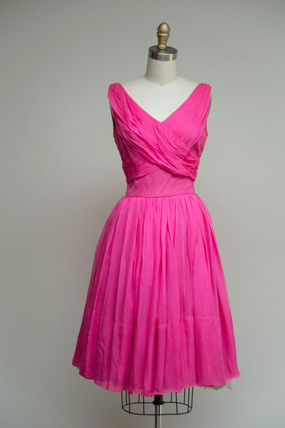 Rosaline Chiffon Dress
