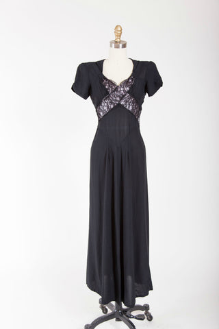 Stolen Secrets Dress - Simply Vintage  - 1