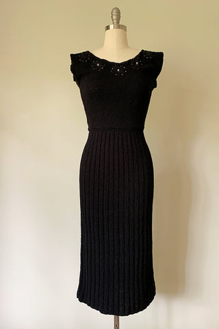Obsidian Knit Dress