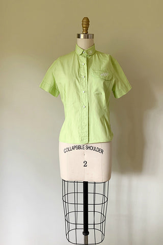 Iris Lime Green Shirt